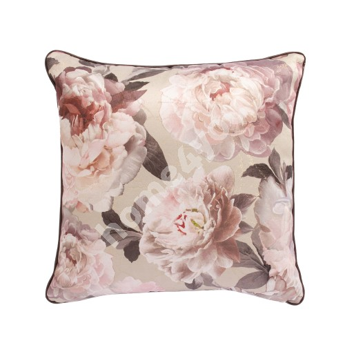 Pillow HOLLY 45x45cm, pink peonies