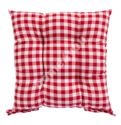 Покрытие для стула LONETA 40x40см, красные квадраты