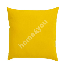 Pillow FIUME COLOUR 45x45cm, yellow