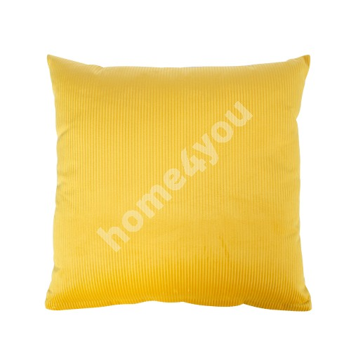 Pillow HOLLY 45x45cm, yellow