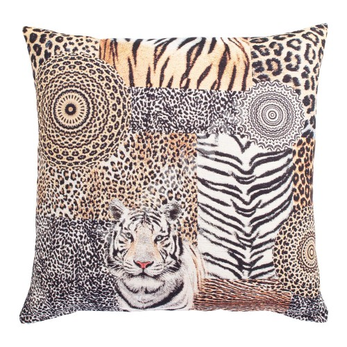 Pillow LEOPARD 68x68cm, tiger tapestry