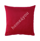Подушка HOLLY 45x45см, красный бархат