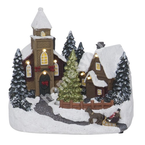 Decorative Scenery Churchville, Multi
