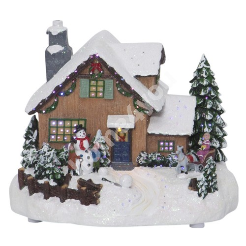 Decorative Scenery Winterville, Multi
