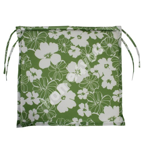 Chair pad  FLORIDA, 48x42x3cm, fabric 082, 100% polyester