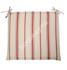 Chair pad  FLORIDA, 48x42x3cm, fabric 624, 100% polyester