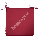 Cushion for chair OHIO 43x38x2,5cm, 100% polyester