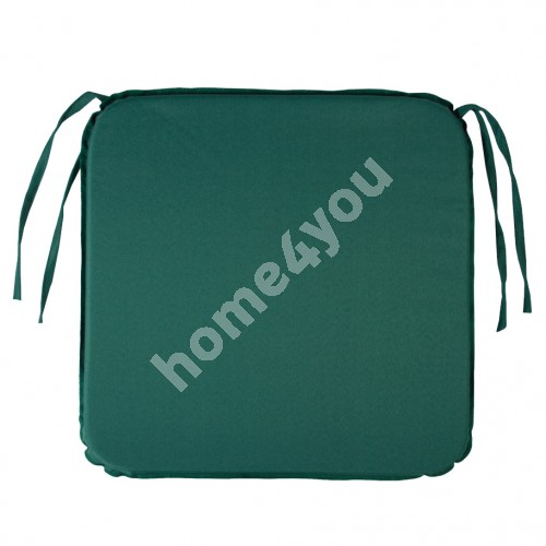 Chair pad OHIO, 39x39x2,5cm, water proof fabric 010, 100% polyester