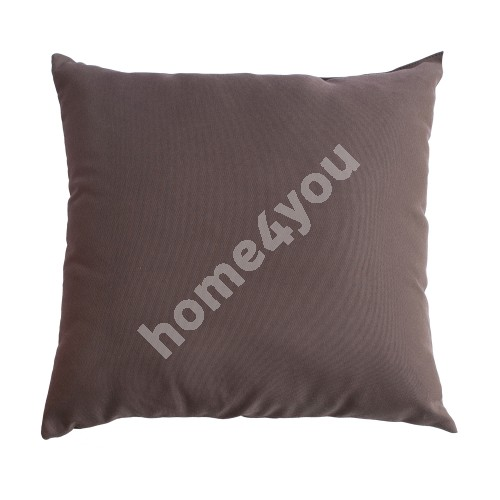Pillow FRANKFURY 2, 45x45cm, brown, 100%polyester, fabric 837