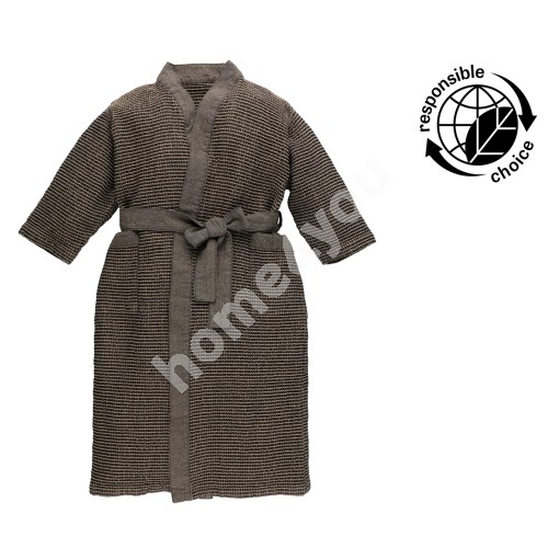 Hommikumantel RENTO BROWN, laste L/XL