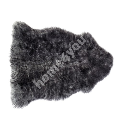 Sheepskin MERINO M 90-99cm, grey-black
