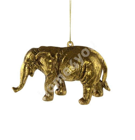 Dekoratsioon ELEVANT, rippuv, 13x10x7cm, kuldne