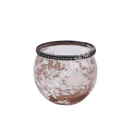 Küünlahoidja SAKURA, D10.5xH8.5cm, roosa