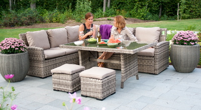 Outdoor furniture set  DONNA